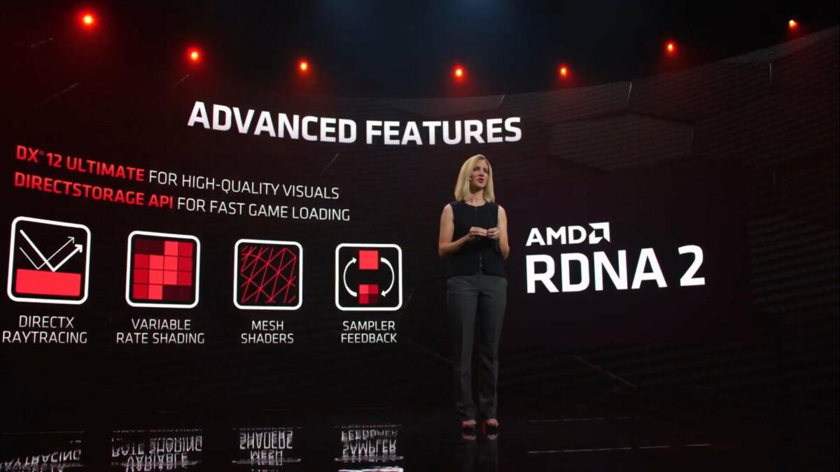 Les nouvelles fonctions de RDNA2