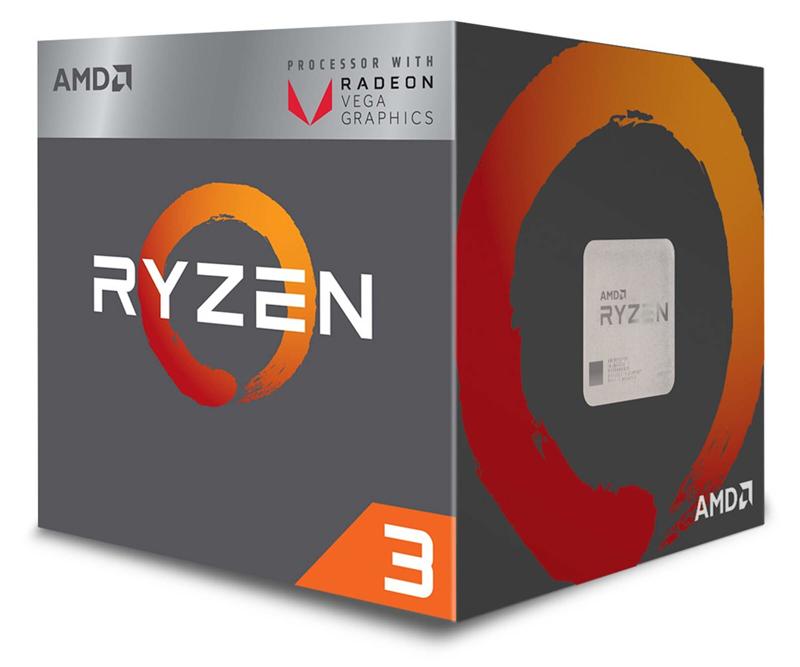 Processeur entrée de gamme : AMD Ryzen 5 3400G