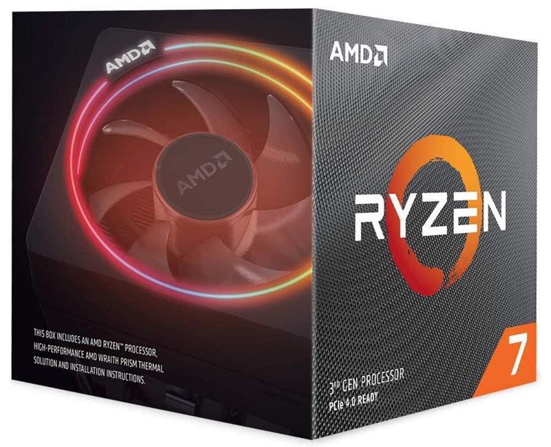 Processeur haut de gamme : Ryzen 7 3700X
