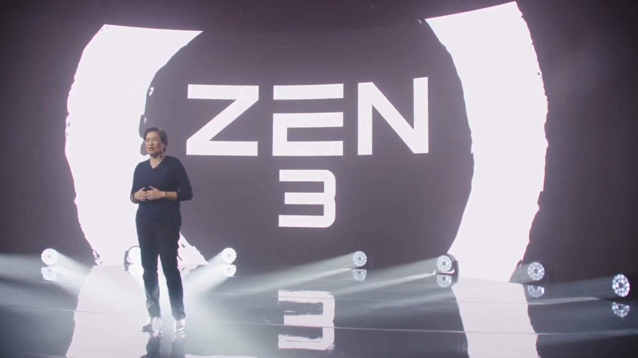 AMD lance l'architecture Zen3 et de nouvelles puces pour ordinateurs de bureau