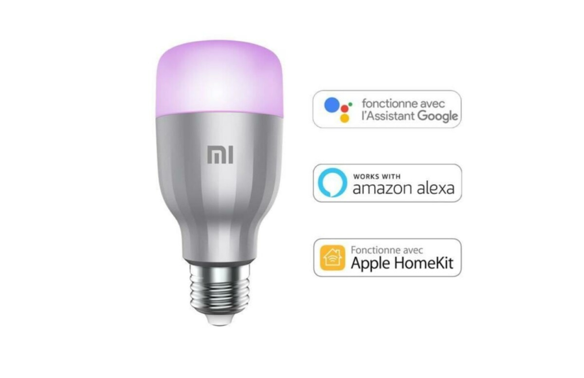 L'ampoule connectée de Xiaomi est 25 % moins chère sur Cdiscount