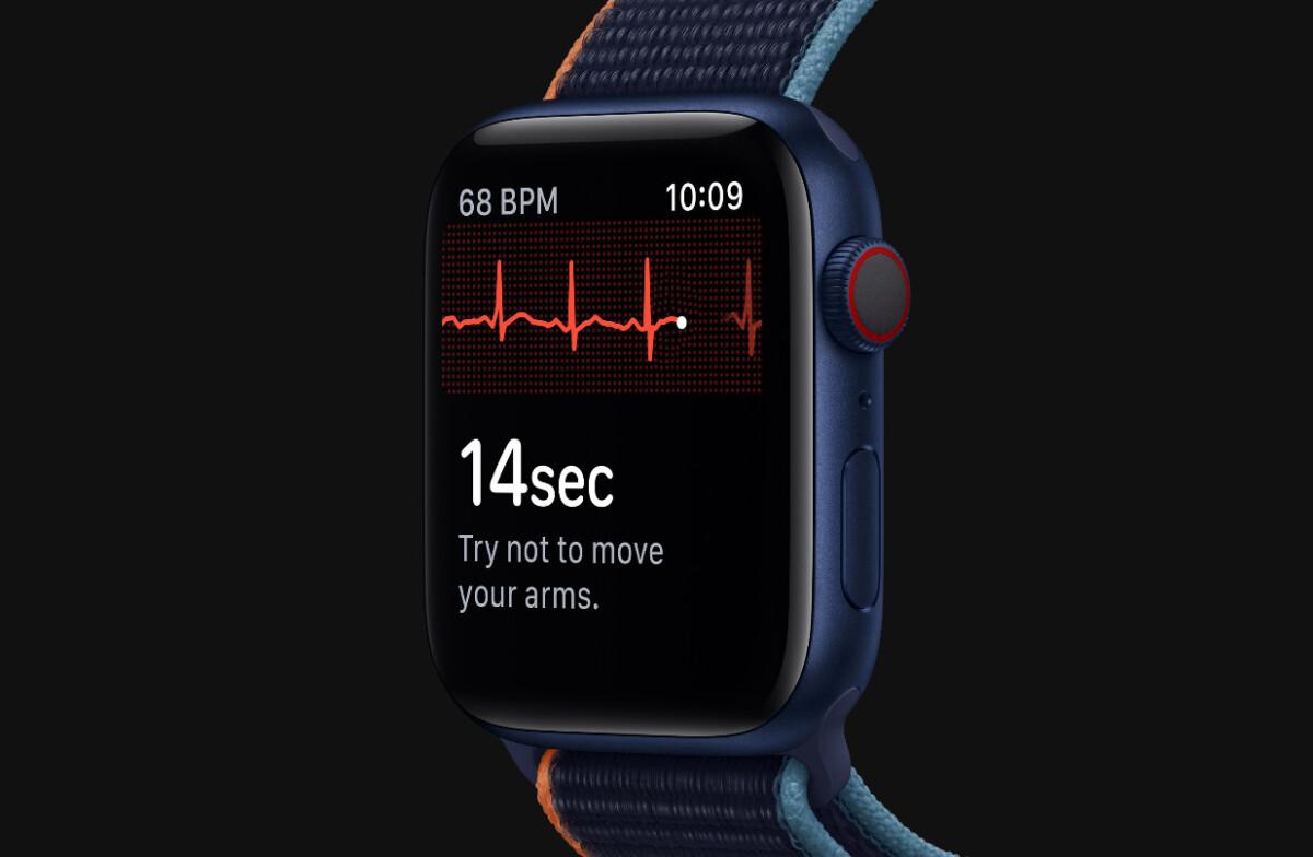 L'apple Watch Series 6 a une fonction ECG