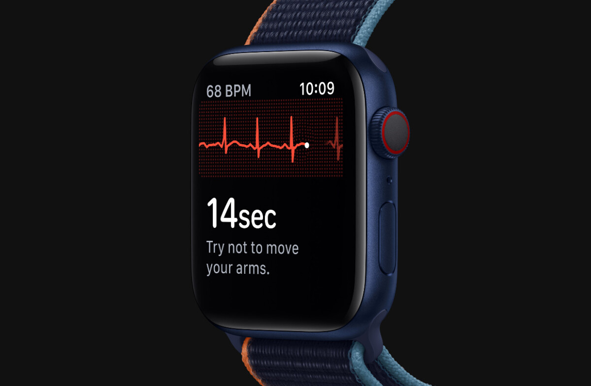 Apple Watch Series 6 has an ECG function