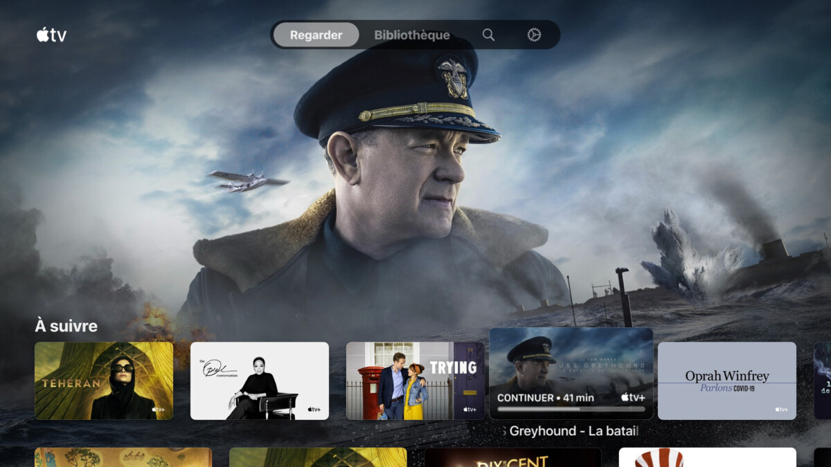 L'application Apple TV sans Apple TV