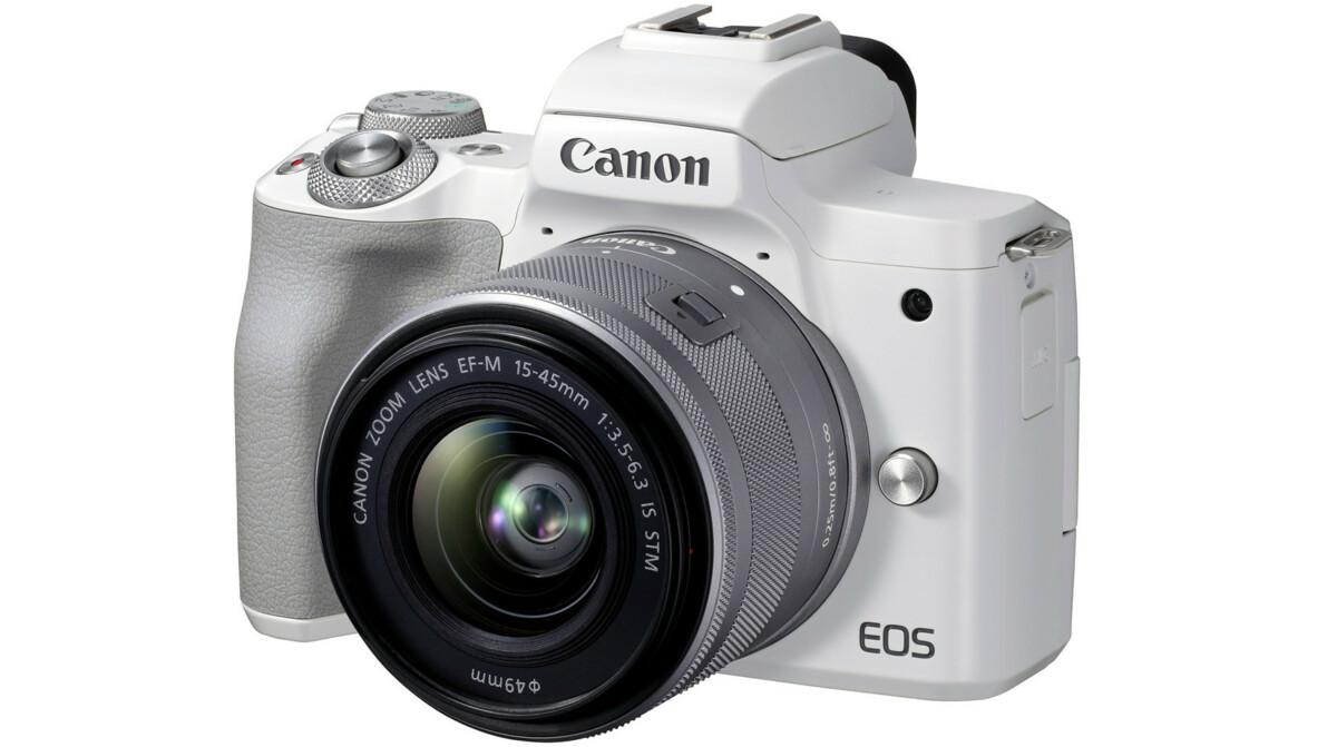 Le Canon EOS M50 Mark II