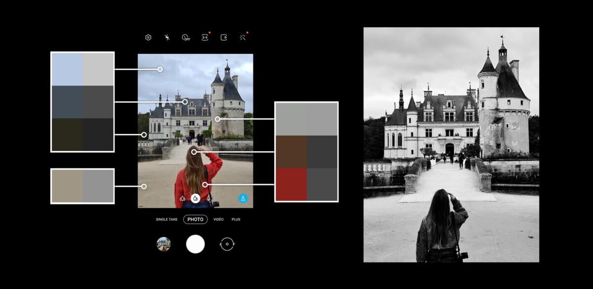 La clé du noir et blanc: savoir repérer les couleurs qui donneront le meilleur contraste final sur la photo en noir et blanc.