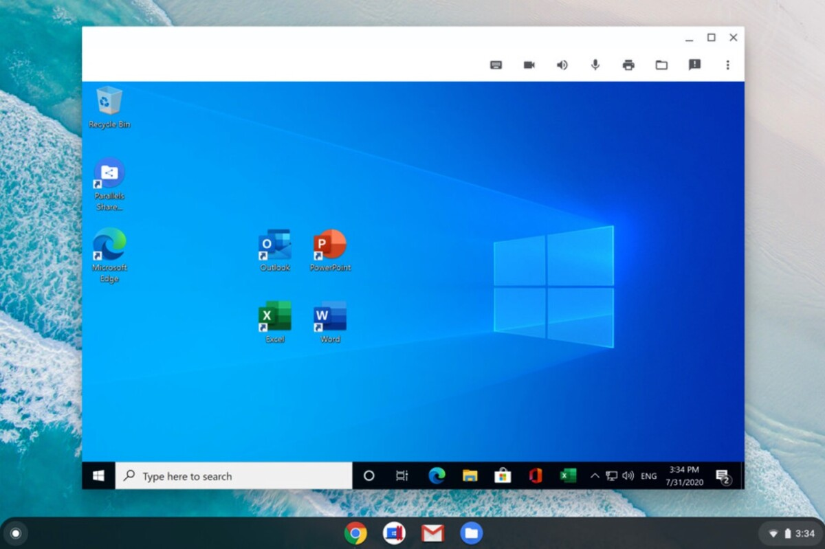 Grâce à Parallels Desktop, les entreprises vont maintenant pouvoir lancer Windows 10 et ses applications directement depuis un Chromebook