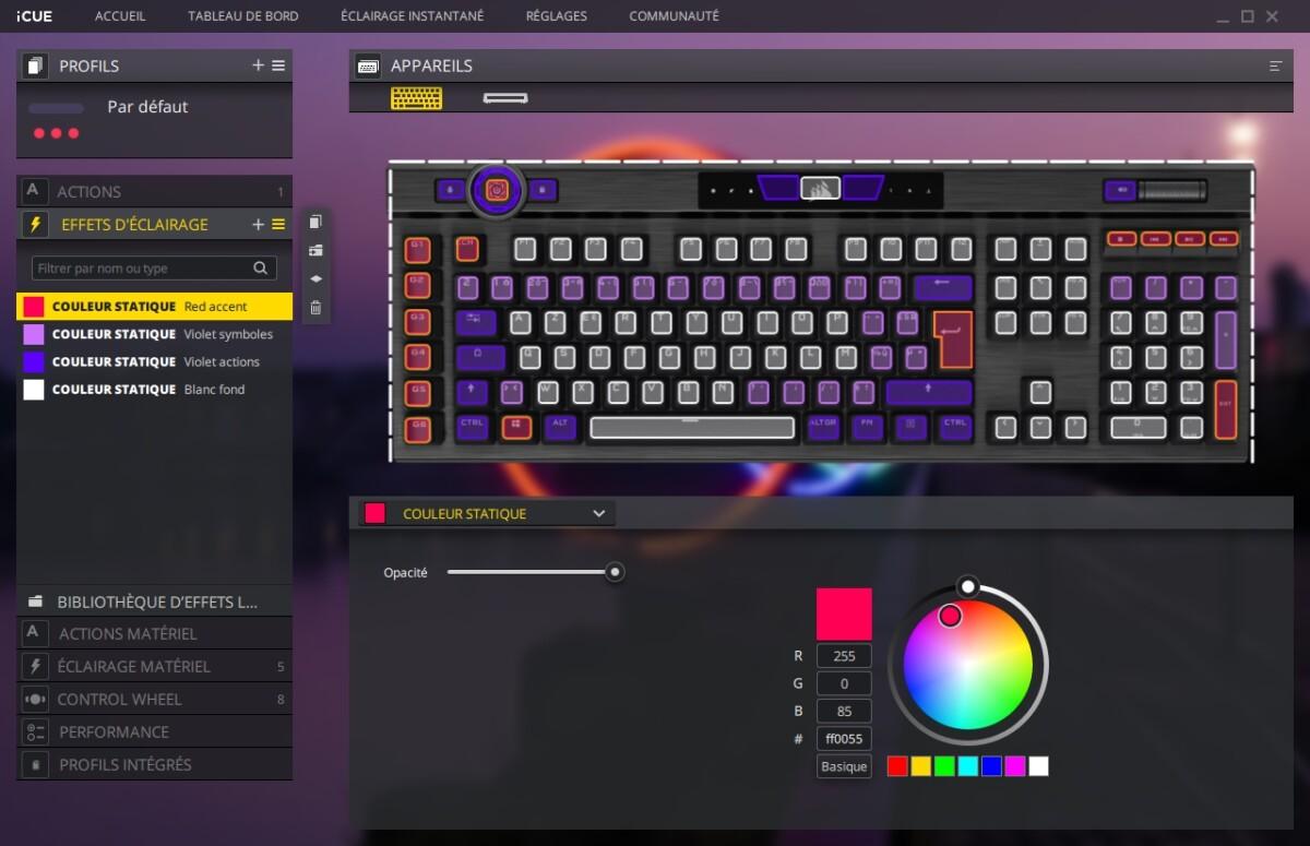 Corsair iCue K100 RGB