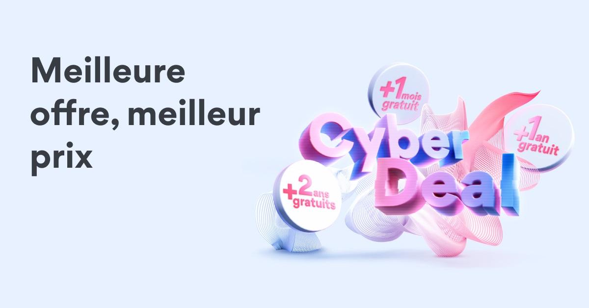 NordVPN lance son Cyber Month et offre jusqu'à 2 ans d'abonnement supplémentaire