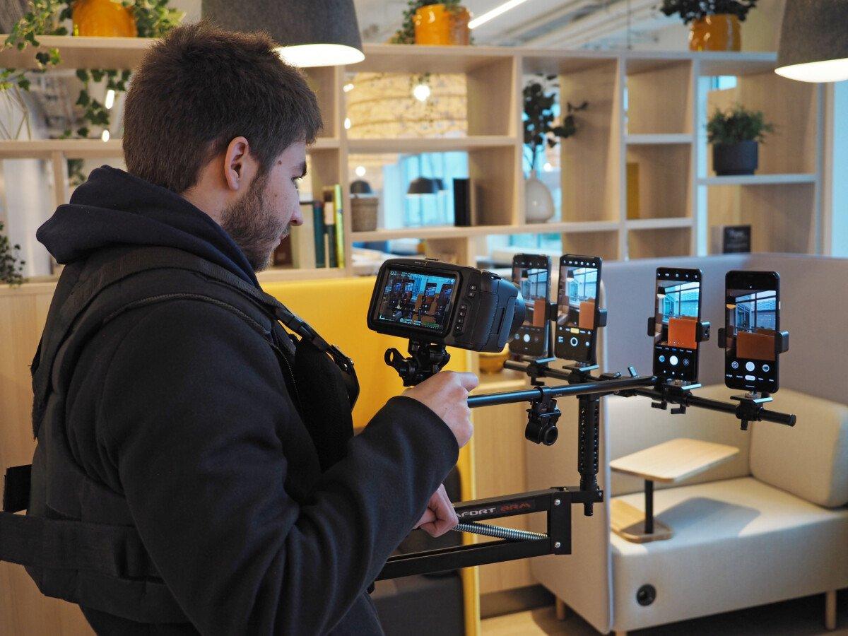 Test en conditions réelles des écrans de smartphone