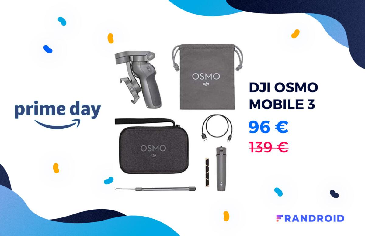 Le DJI Osmo Mobile 3 et ses accessoires sont encore moins chers pour le Prime Day