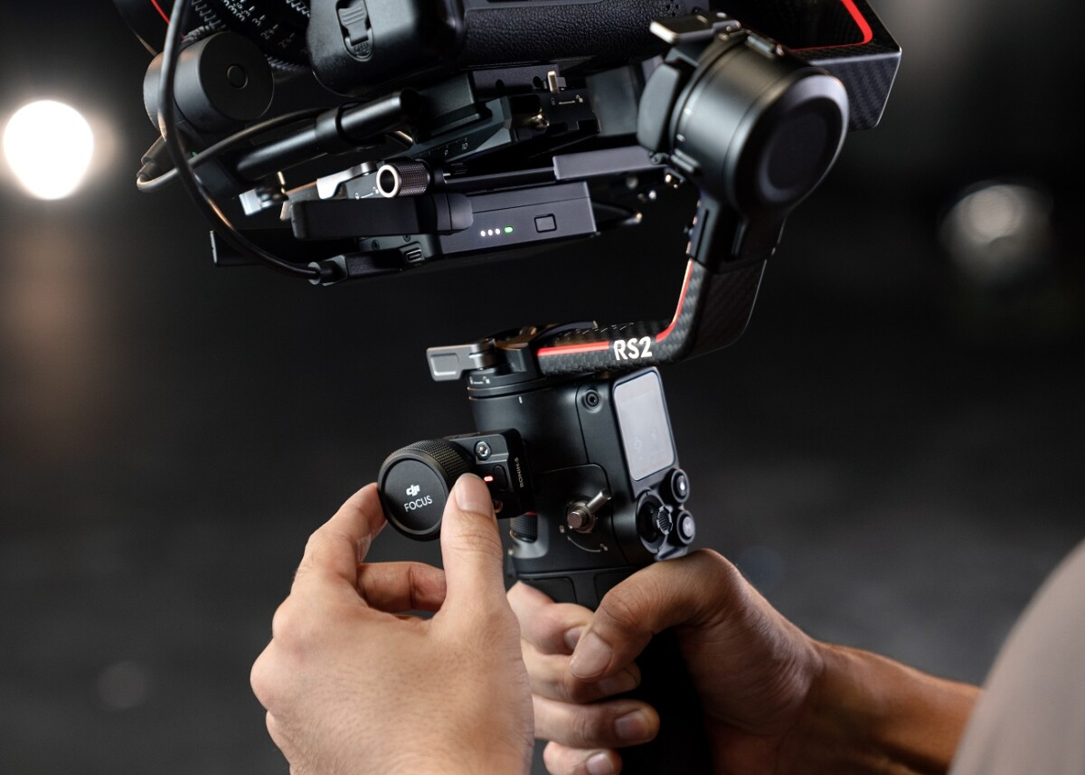 The DJI RS 2 stabilizer