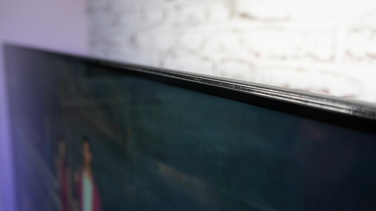 L'intégration de la dalle est plus soignée et on apprécie encore plus la finesse (relative) des bords.