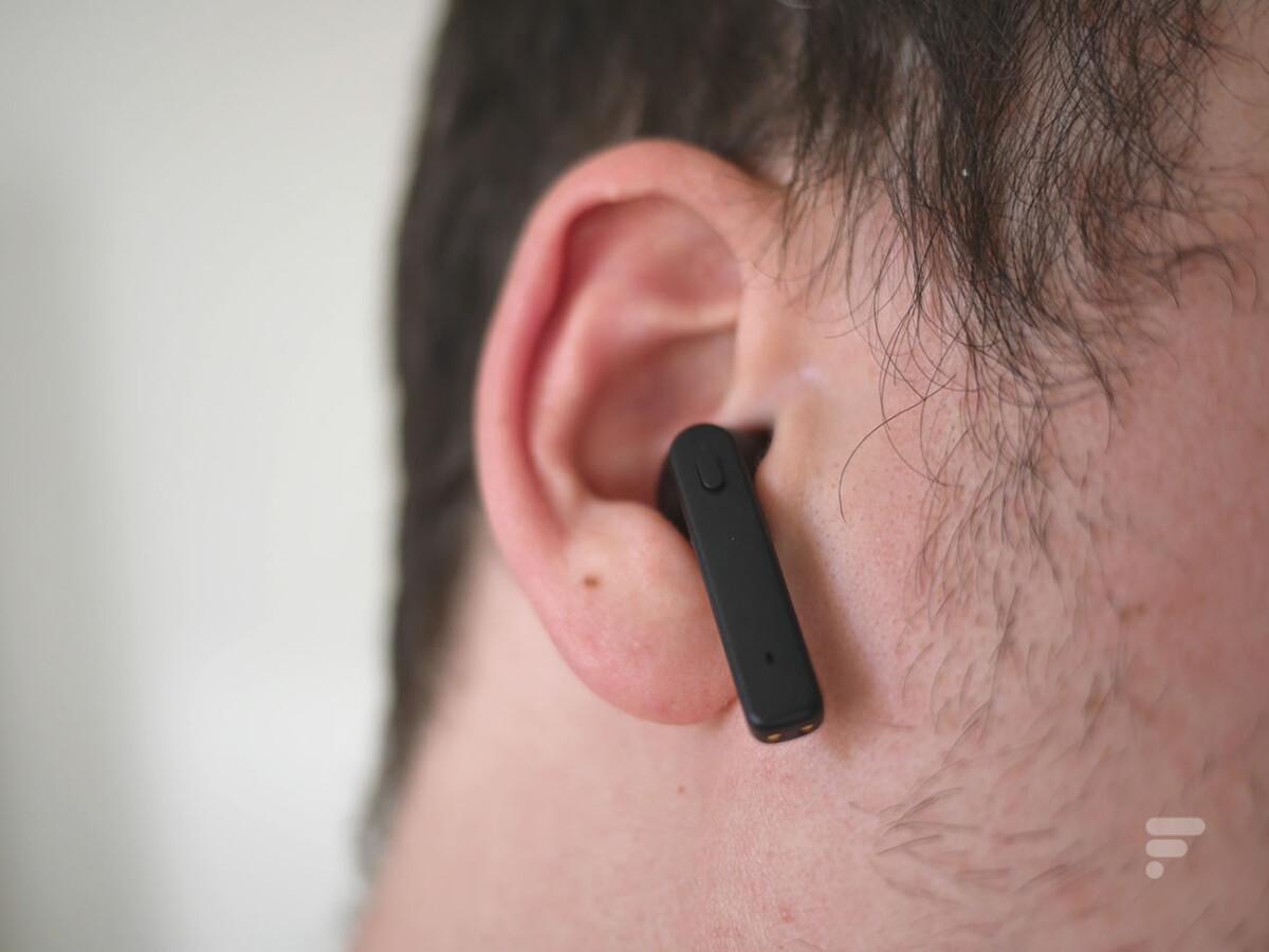 Les écouteurs true wireless de Lidl ne sont pas des plus confortables