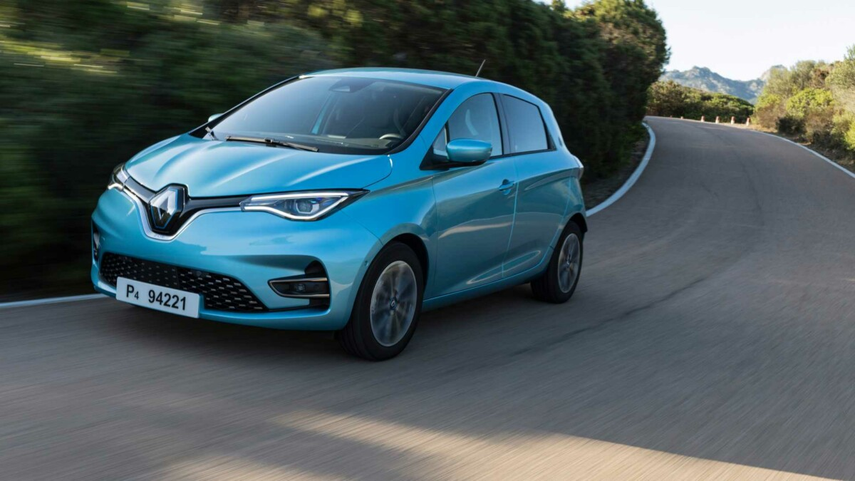 The Renault Zoé is currently the best-selling electric car in France.