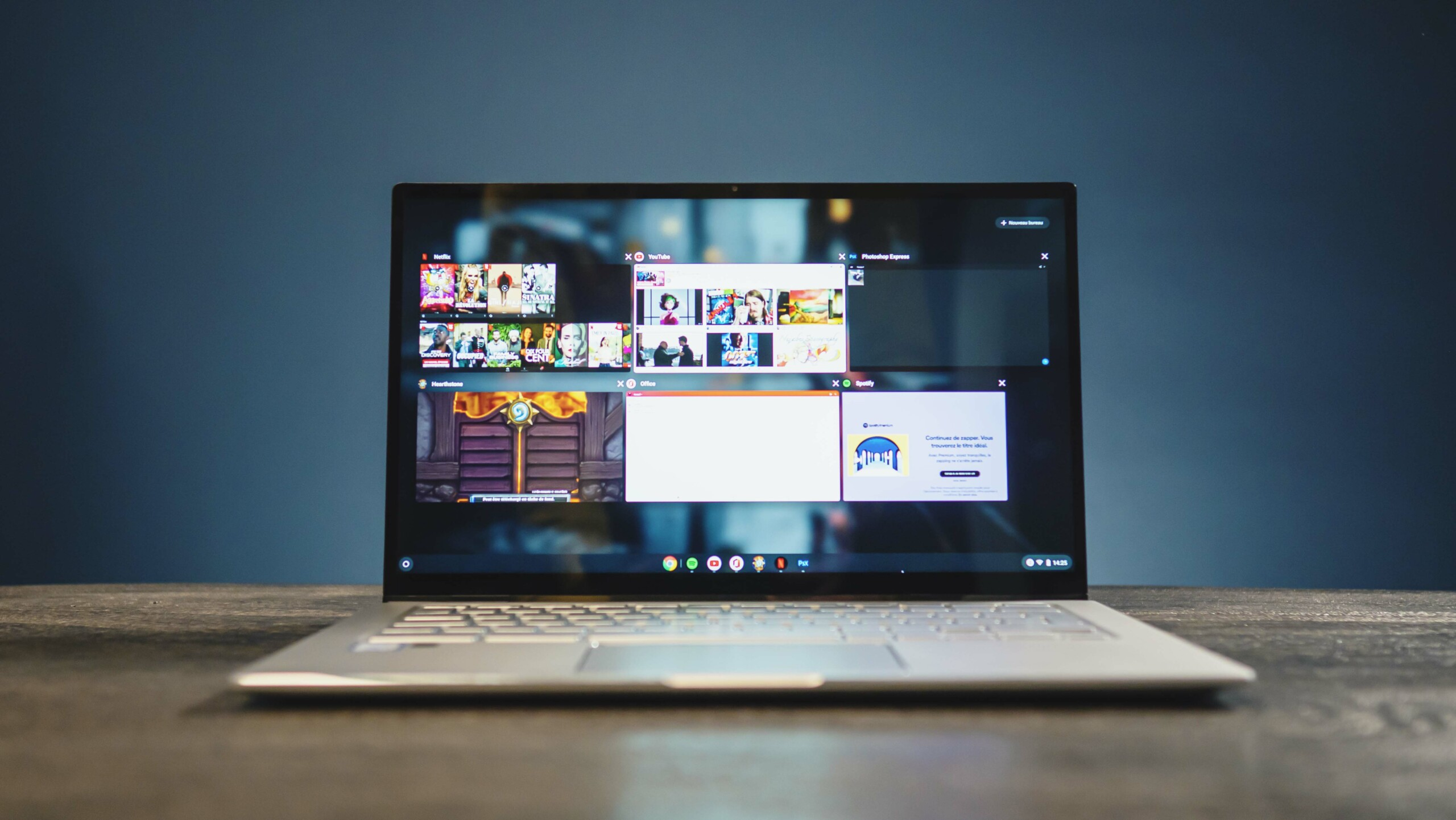 Chrome OS doesn't weigh a lot, leaving room for all your favorite apps.