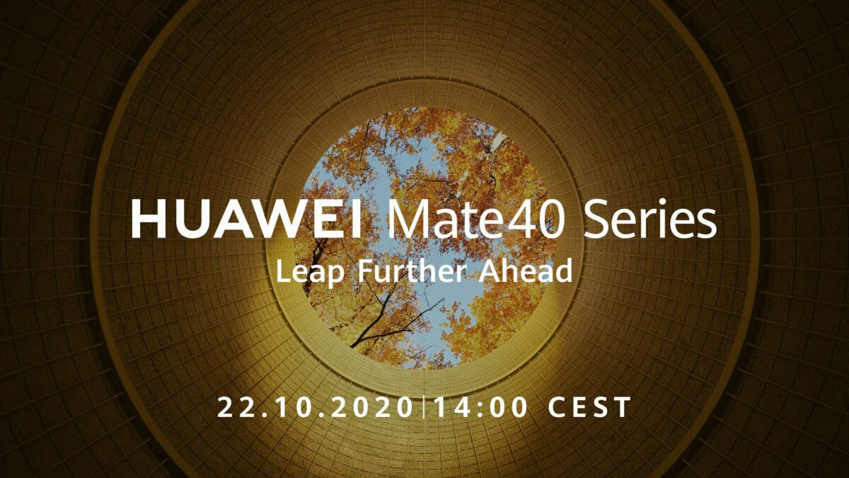 "huawei annonce mate 40 1200x675 - Huawei Mate 40: announcement confirmed for October 22 with ""unprecedented power"" - Frandroid"