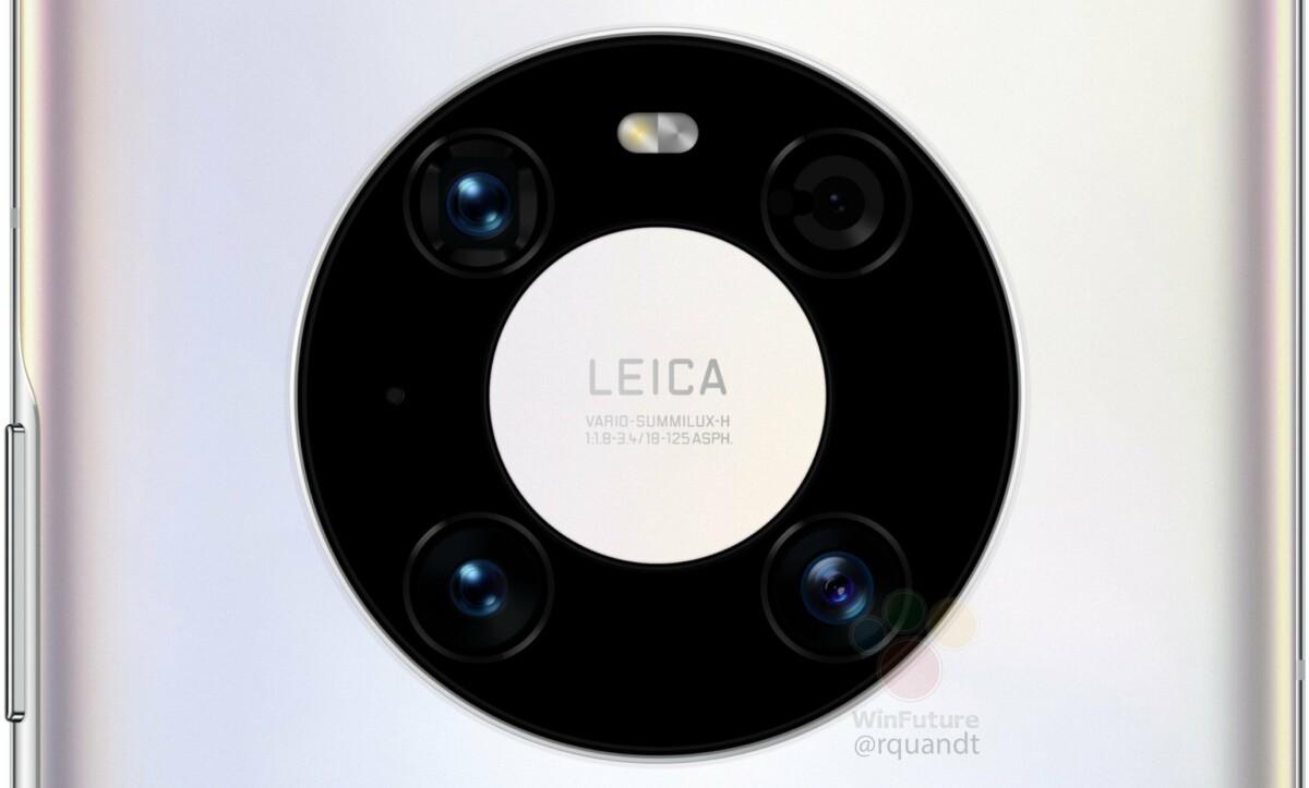 Huawei Mate 40 Pro cameras