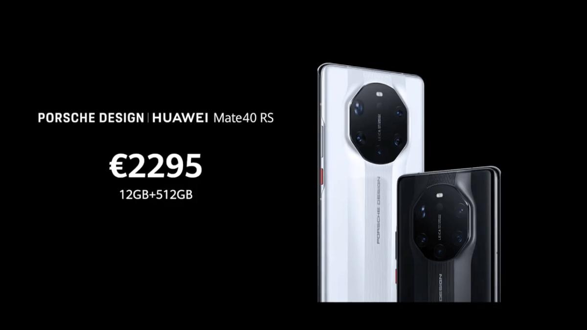 Huawei Porsche Design RS : un Mate 40 Pro+ en version GT, toujours aussi cher et excessif