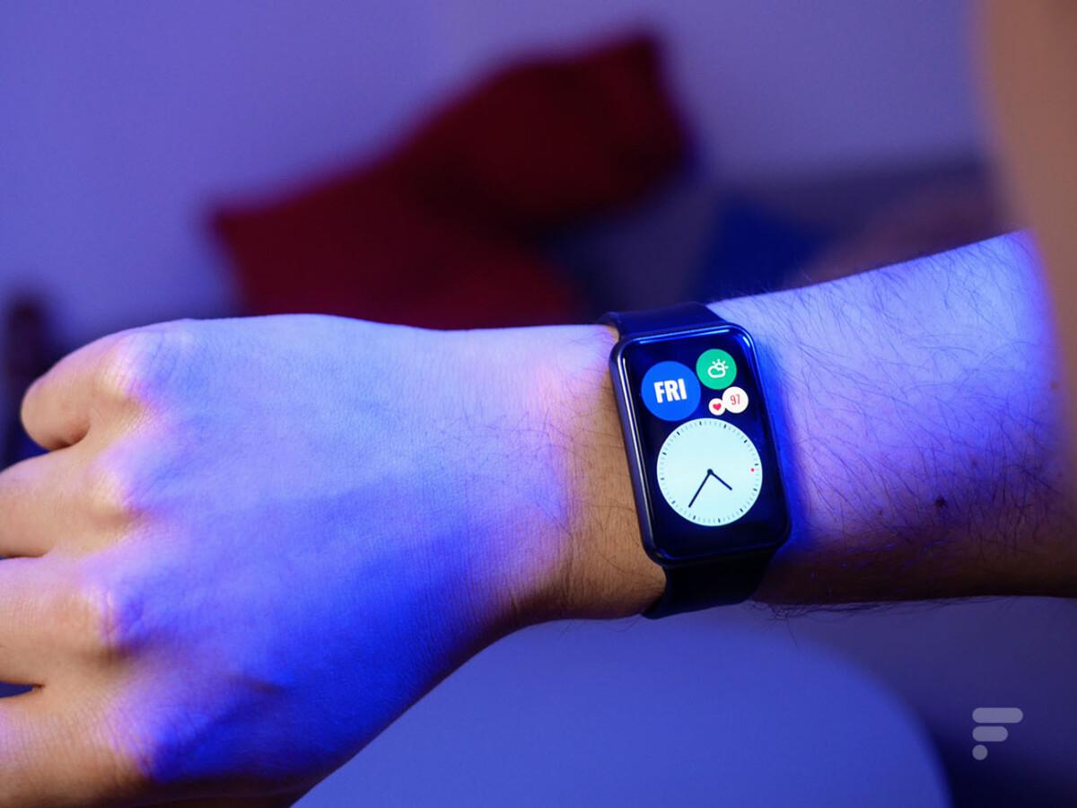 La Huawei Watch Fit