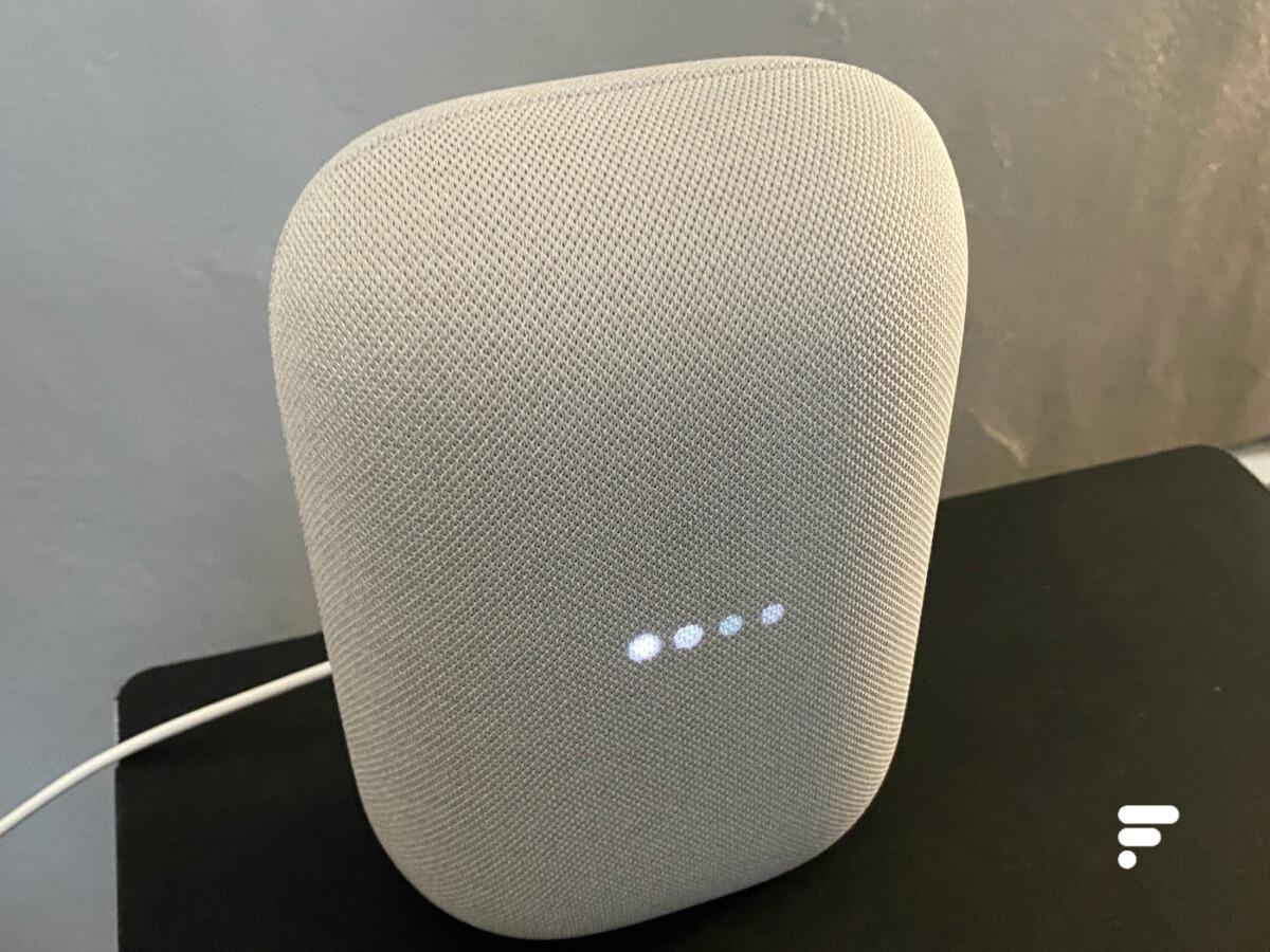 Google Assistant se déclenche sur le Nest Audio
