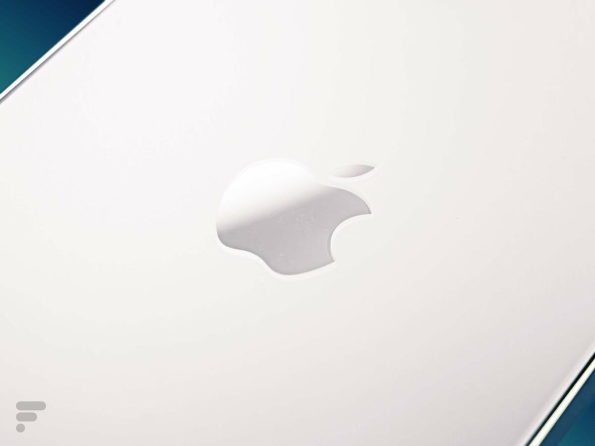La pomme au dos de l'iPhone 12 Pro