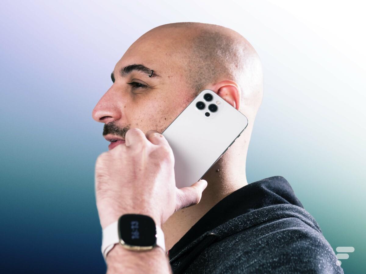 Les appels sont de bonne qualité avec l'iPhone 12 Pro