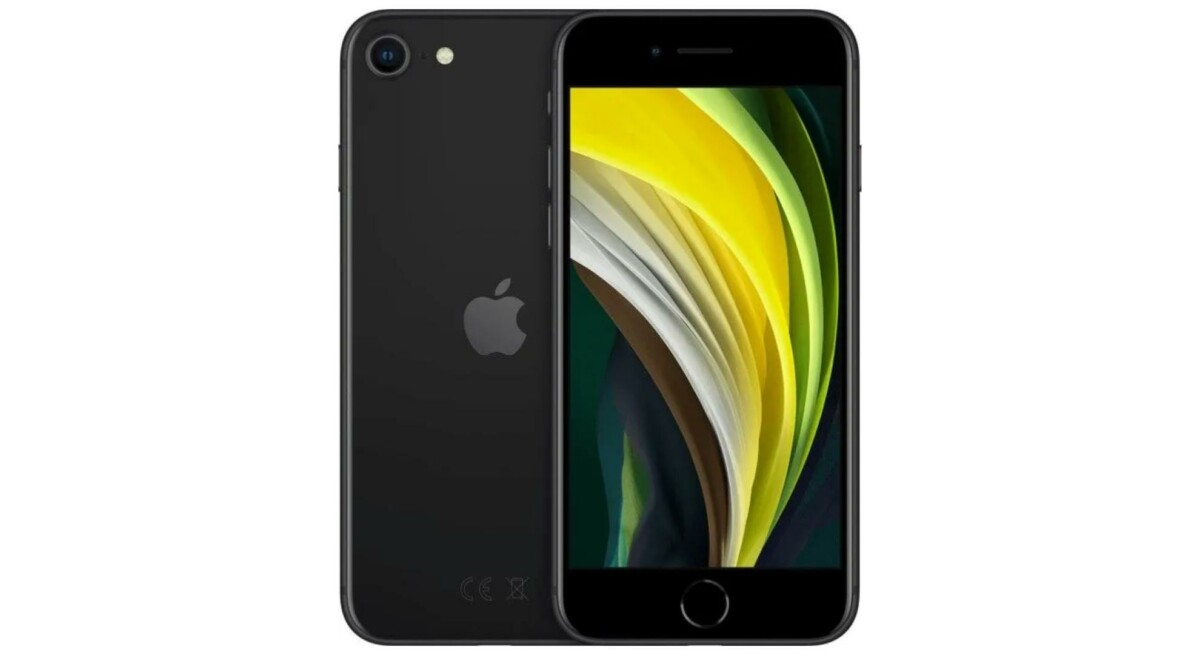 iphone se 2020 noir 1 1200x655 - IPhone SE gets great discount and drops to 349 euros - Frandroid