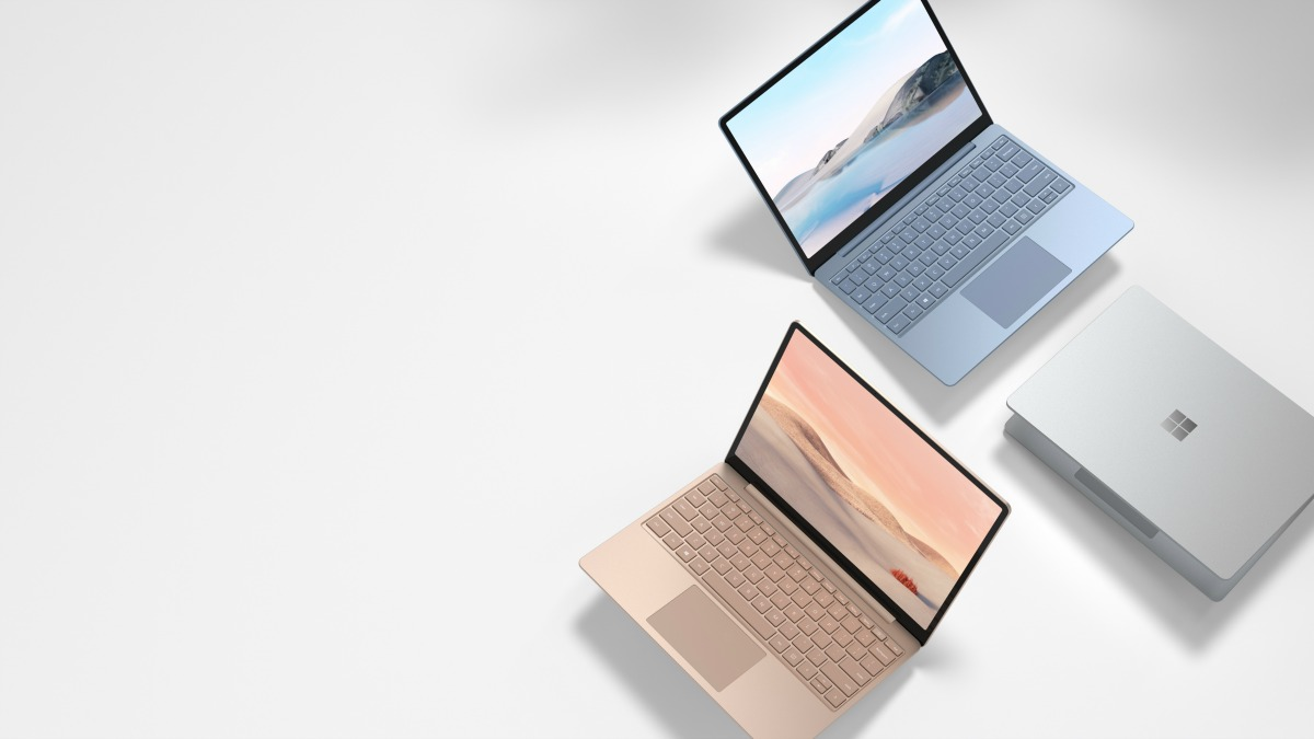 The Surface Laptop Go range