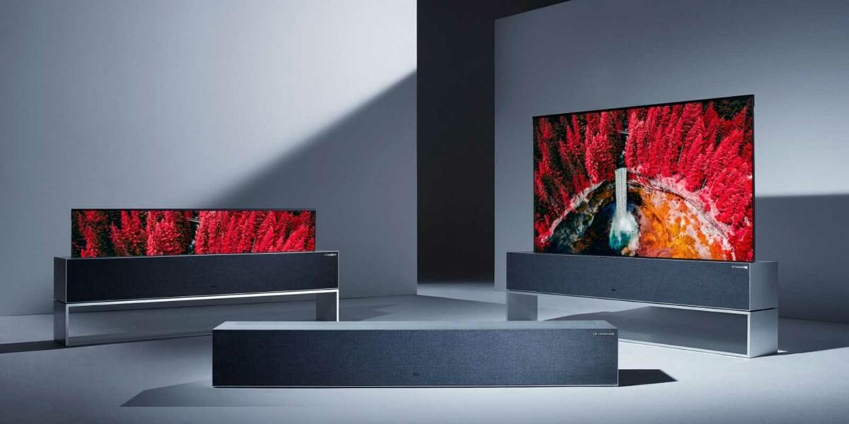 Le téléviseur enroulable LG Signature OLED R dévoile en Corée un tarif particulièrement salé