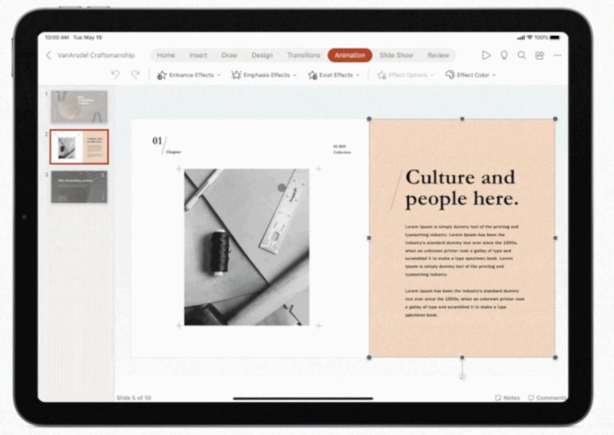 iPad : Microsoft Office fonctionne avec la souris et le trackpad désormais