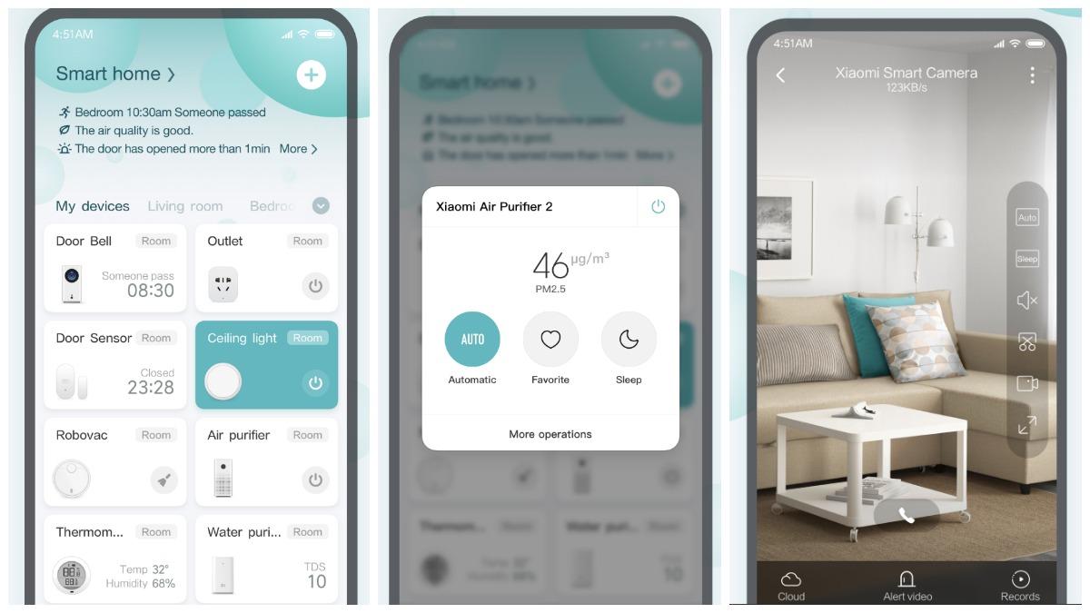L'application Xiaomi Mi Home