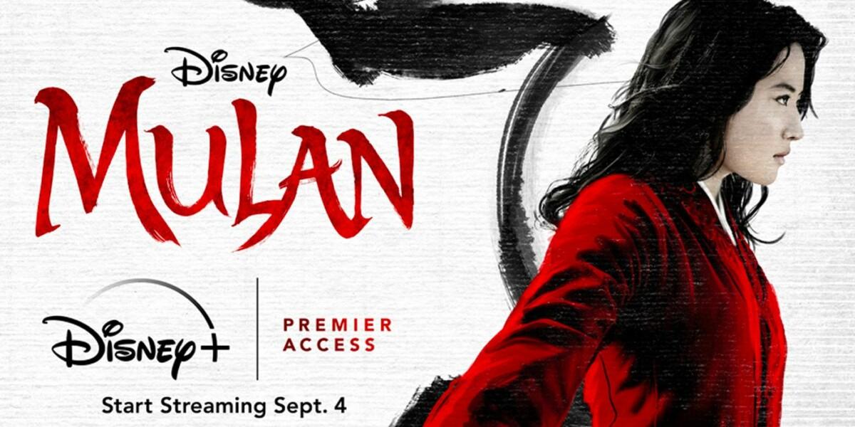Mulan sur Disney+
