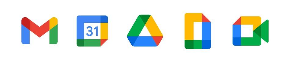 Nouveaux logos de Google