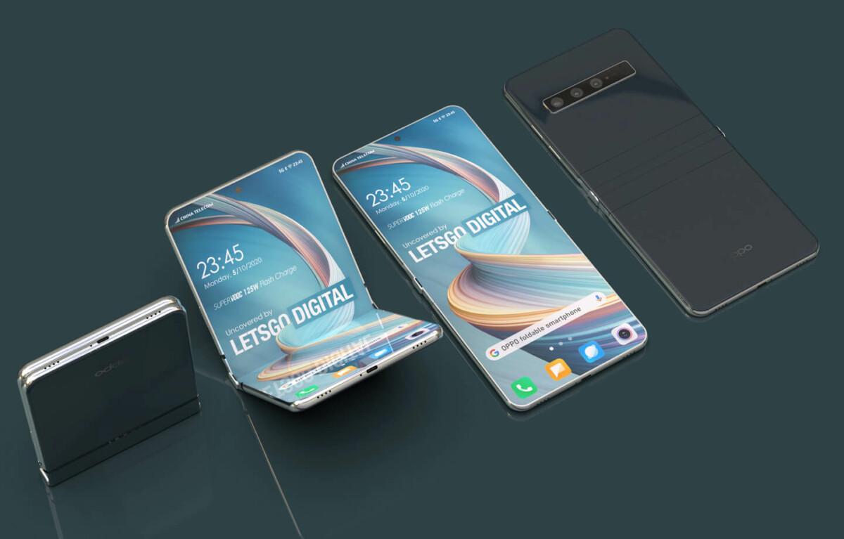 Concept - Oppo - smartphone pliable