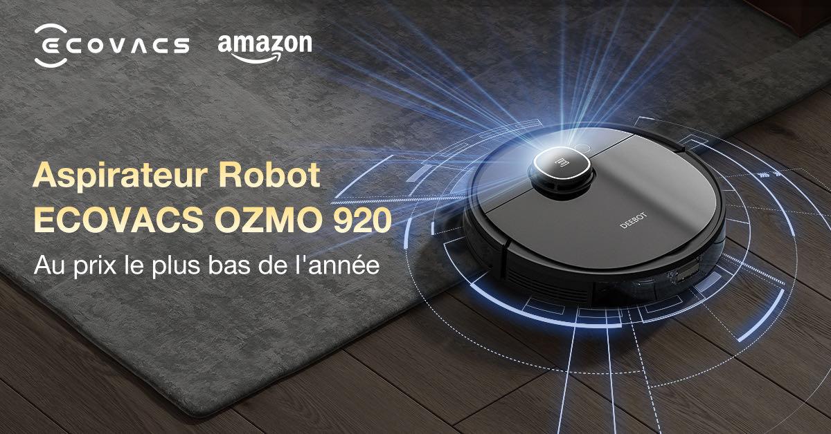 L'aspirateur-robot Deebot Ozmo 920 passe à moins de 300 euros: c'est le bon moment pour craquer