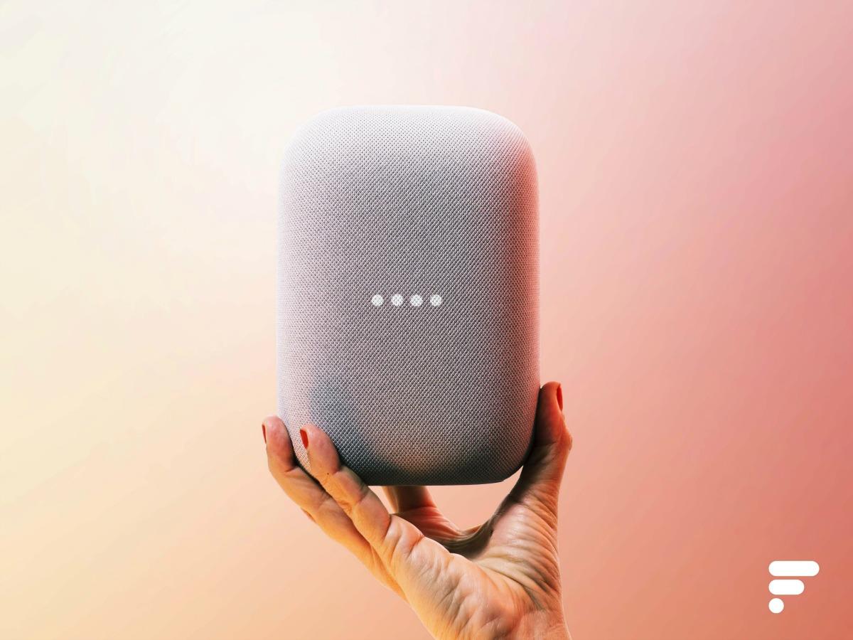 Le Nest Audio de Google