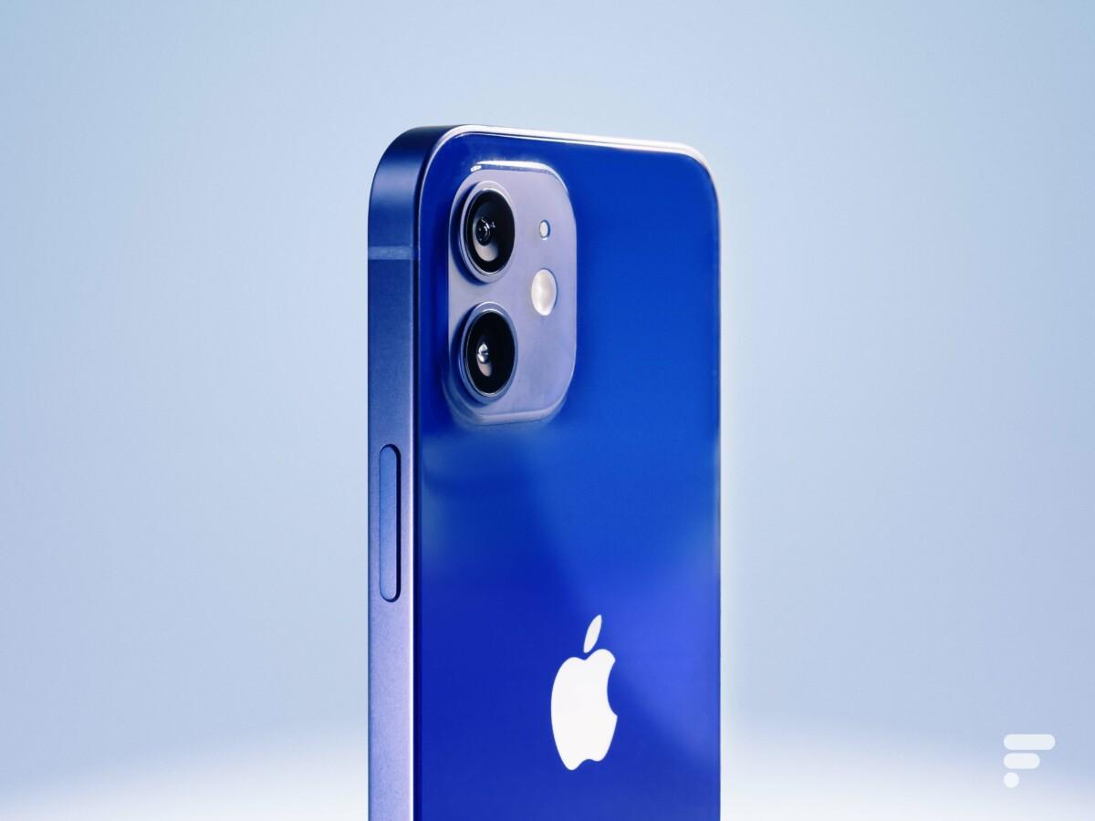 The iPhone 12 camera