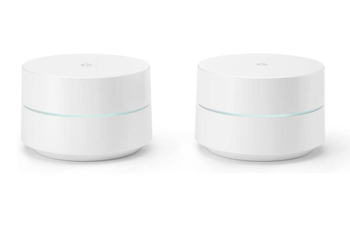 Ce lot de 2 routeurs Google WiFi est à prix cassé sur Amazon