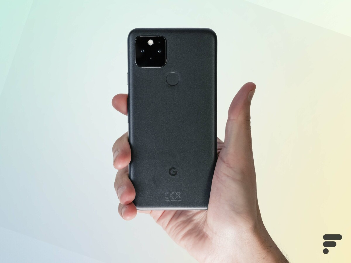 The Pixel 5 has a compact form factor