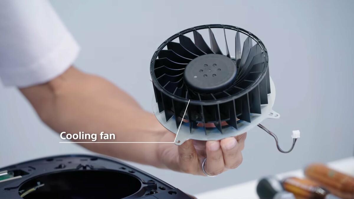 Le ventilateur de la PS5 devrait souffler plus fort