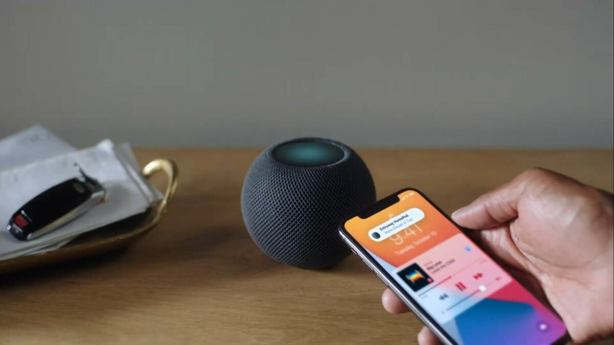 Le nouveau HomePod Mini
