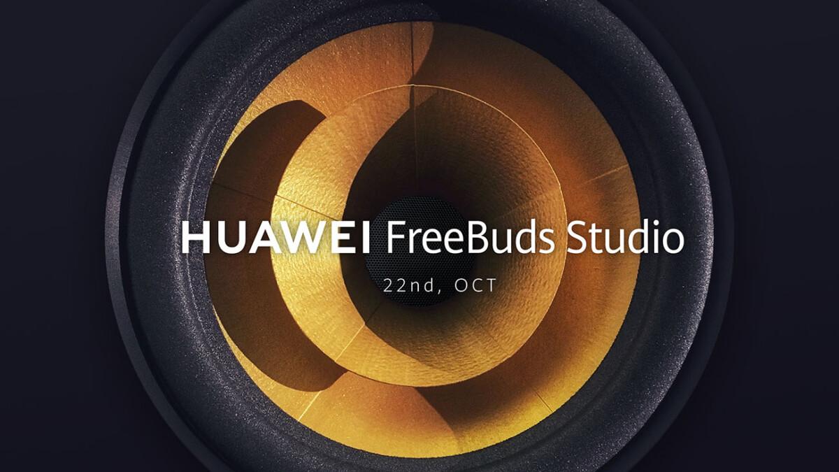 L'annonce de l'événement FreeBuds Studio par Huawei