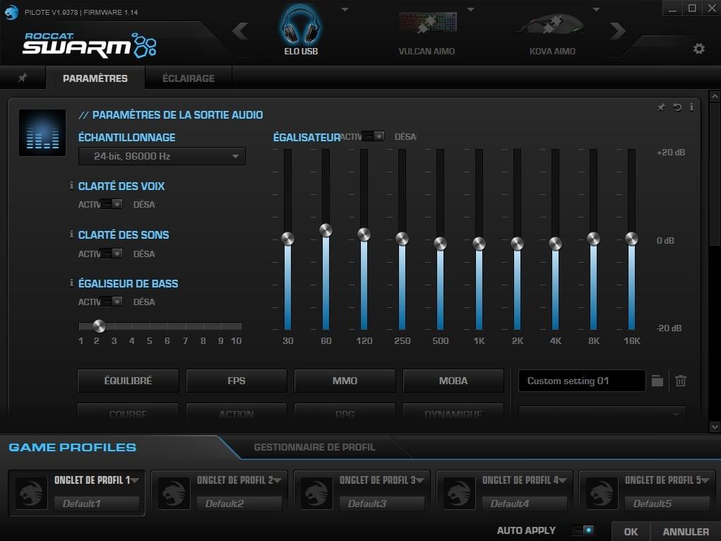 Roccat Elo 7.1 USB - Swarm