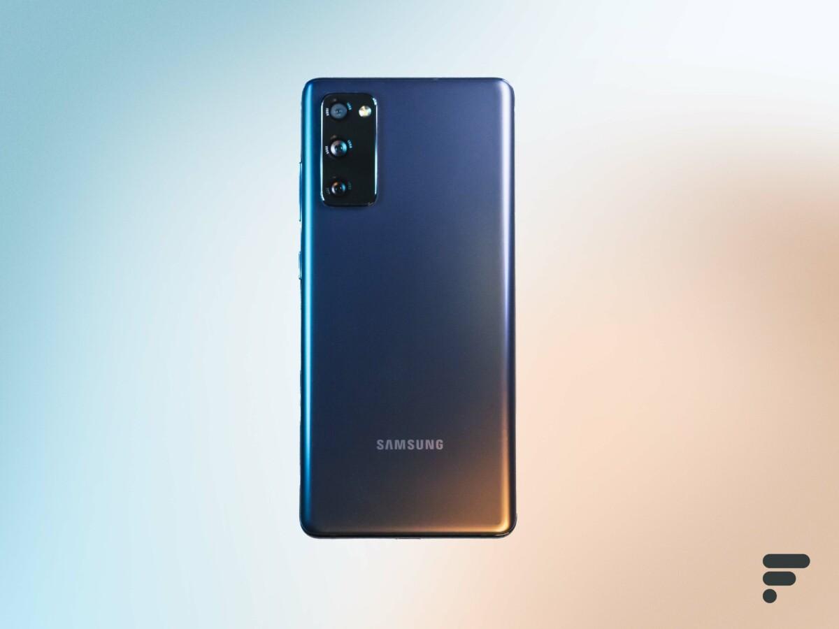 Dos du Samsung Galaxy S20 FE