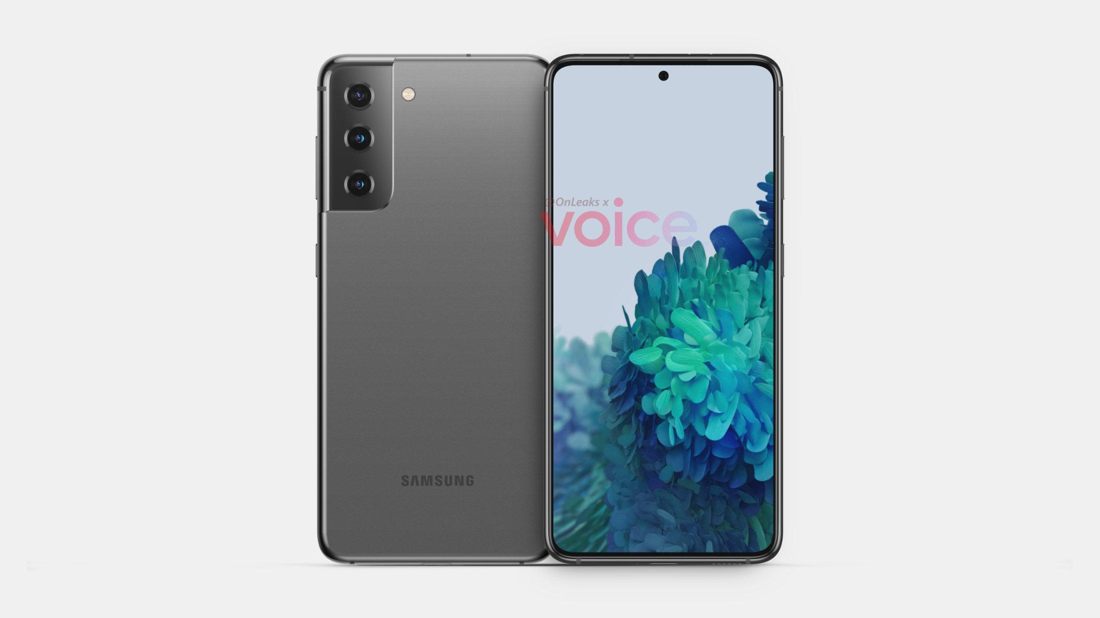 Le futur Galaxy S21 (ou S30) se montre