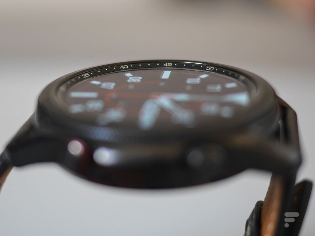 La lunette de la Samsung Galaxy Watch 3