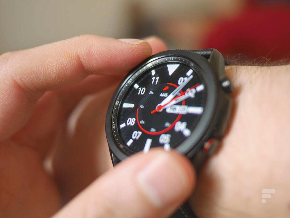 La Samsung Galaxy Watch 3 pour illustration