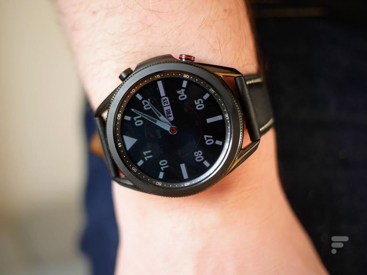 Le mode always on sur la Samsung Galaxy Watch 3