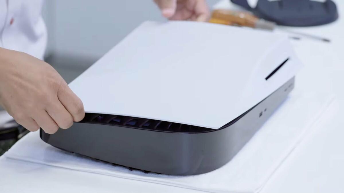 PS5 : Sony démonte sa console next-gen pour nous révéler ses entrailles